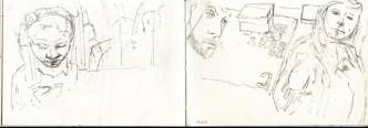 Train Journey Drawing